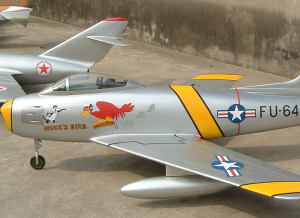 Shrinkage aircraft model-1:5仿真F-86模型